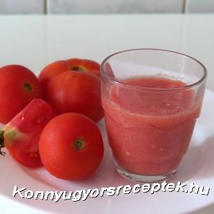 Gazpacho a paradicsomital recept