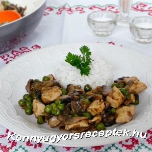 Szecsuáni csirkemell recept