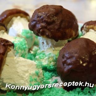 Gomba sütemény recept