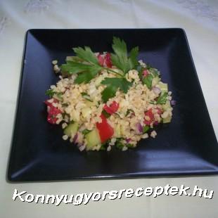 Zöldséges bulgur recept