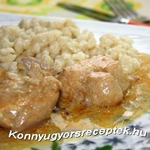 Csirke vadasan recept