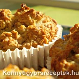 Diétás kókuszos muffin recept