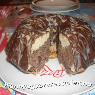Csokoládés kuglóf recept