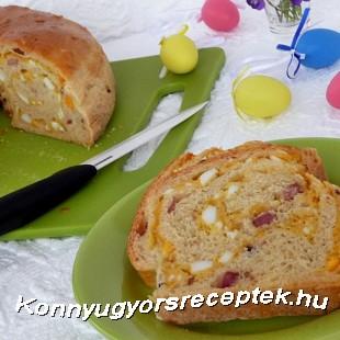 Sós húsvéti kalács recept