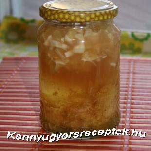 Gyömbéres citromos méz recept