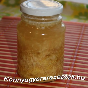 Gyömbéres elixir recept