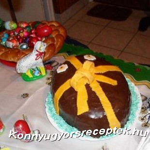 Húsvéti csokitojás recept