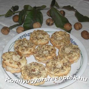 Bécsi diós koszorú recept