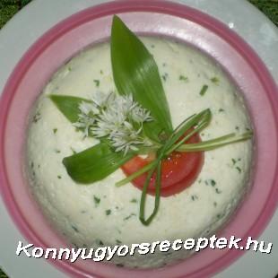 Medvahagymás túrótorta recept