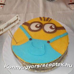 Minyon torta recept
