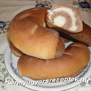Fatőrzs kifli recept