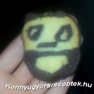 Panda keksz recept