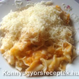 Krumplistészta sajttal recept