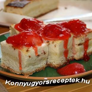Epres túrókocka recept