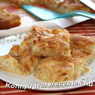 Mandulás sütemény (gyors) recept