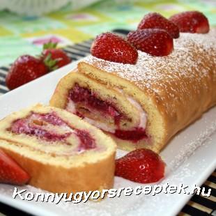Citromos-epres tekercs recept