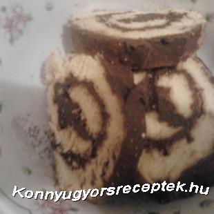 Csokoládékrémes Piskótatekercs recept