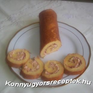 Omlett-tekercs recept
