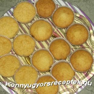 Joghurtos muffin recept