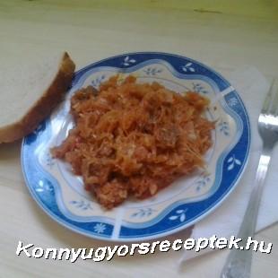 Falusi Toros Káposzta recept