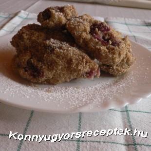 Cseresznyés nokedli recept