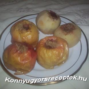 Sült alma recept