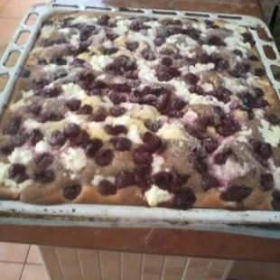 Túrós meggyes joghurtos recept