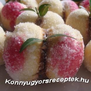 Őszibarack recept