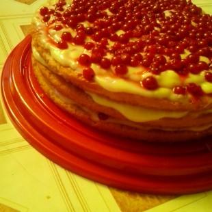 Nyári ribizli torta recept