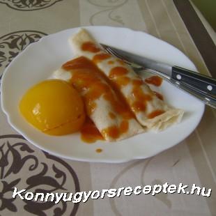 Tanyasi palacsinta recept