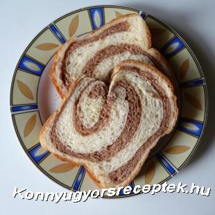 Fahéjas - kakaós kalács recept