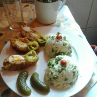 Rúdfasírt, rizibizivel recept