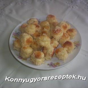 Szakállas pogácsa recept