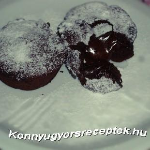 Csokis szuflé recept