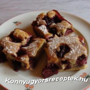 Cseresznyés kevert recept