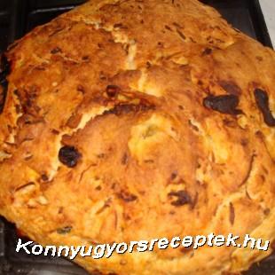 Olasz parasztkenyér recept