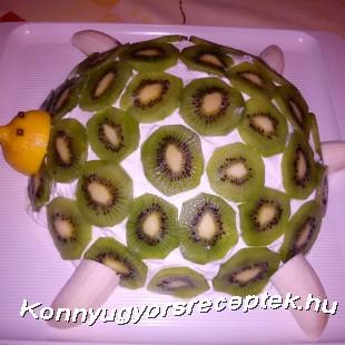 Desszert teknős recept