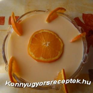 Joghurtos narancsleves recept