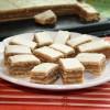Fehércsokis zserbó omlós tésztából