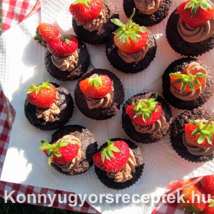 Csokis muffin liszt nélkül recept