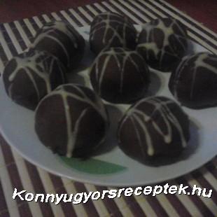 Kekszes Meggy bonbon recept