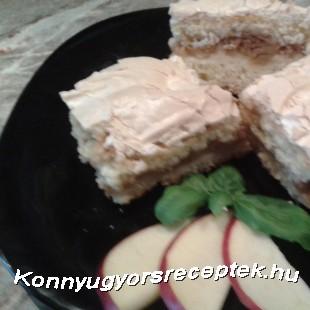 Habcsókos Almás pite!   recept