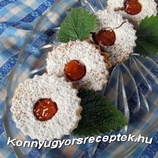 Linzerkarika, rizslisztből recept