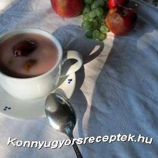 Gyümölcs leves recept