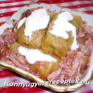 ERDELYI TOLTOTT KAPOSZTA recept
