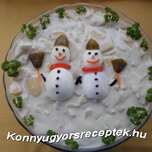 Hóemberes majonézes krumplisaláta recept