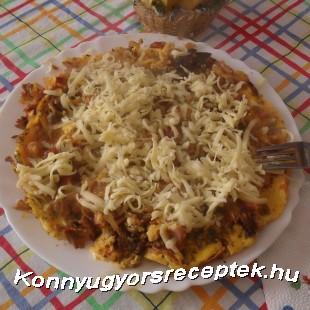 Krumpli pizza recept