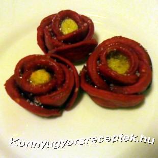 Vörös rózsa recept