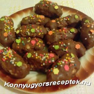 Házi Bounty csoki recept