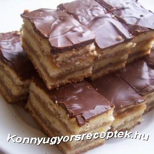 Zserbó recept